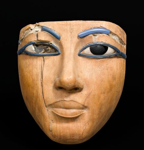 棺に由来するマスク