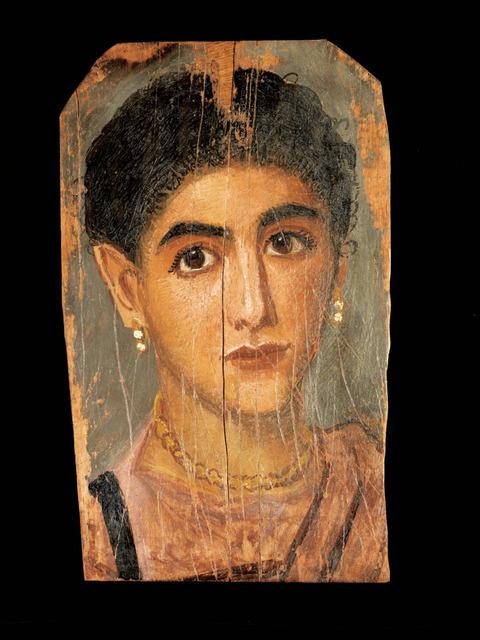 エジプト女性の肖像