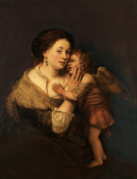 レンブラント母子