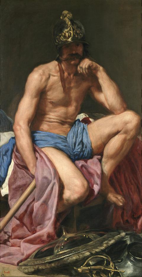 Velázquez_-_Dios_Marte
