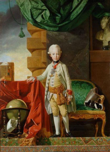 皇帝フランツ1世7歳