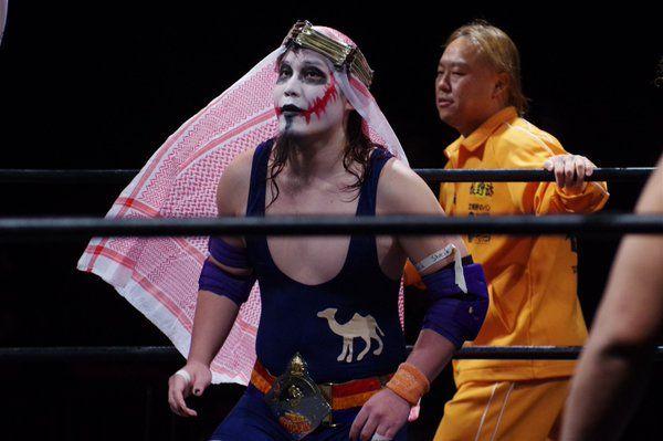 WWE行きの矢野啓太。シーク様殺...