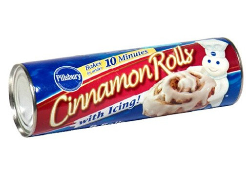 cinnamon roll can explodes inside man's butt during shoplifting incident