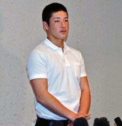 金足農・吉田輝星 好きな球団は「巨人。行きたいです」