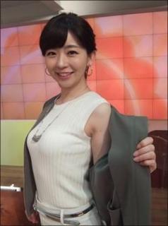 松尾由美子アナ、美乳くっきりの姿に熱視線!「年々キレイに」