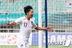 男子サッカー ア大会 イ・スンウ2ゴール 韓国、ベトナムに3-1勝利で決勝進出
