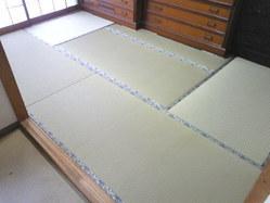 731神戸市灘区のマンション、新畳に入れ換え