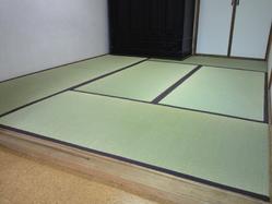 681神戸市東灘区六甲アイランド、わら床の新畳