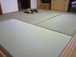763神戸市西区表替え、畳の下にはシリカゲル(調湿材)
