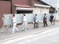 740畳でギネスに挑戦(兵庫県加東市東条湖おもちゃ王国)