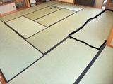 BlogPaint1006宝塚市お茶室表替え(おもてがえ)
