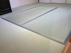 701宝塚市のマンション、新畳入れ替えしました