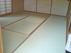 384神戸市北区鹿の子台赤ちゃん安心畳表で表替え