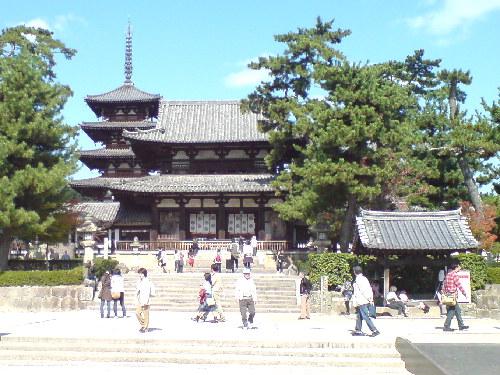 522奈良県生駒郡斑鳩町・法隆寺