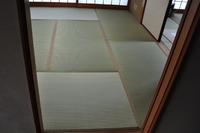 1416川西市、水の子の畳表で表替え
