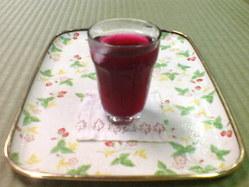 408無農薬栽培の紫蘇・シソジュース