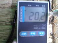 725三木市の畳、含水率