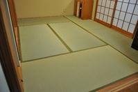 1187神戸市須磨区表替え、水の子の畳表使用