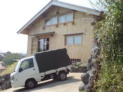 363静岡県へ新畳納入