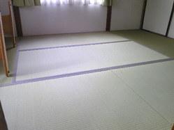 722三木市の畳、新畳へ入れ替え