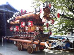 662神戸市灘区篠原厳島神社春祭り、地車