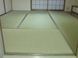 542神戸市垂水区新畳、無農薬畳表(無染土)・畳床