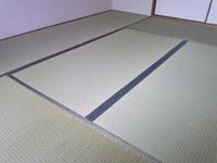 984箕面市の畳の表替え(おもてがえ)・無農薬畳表(農薬未使用)