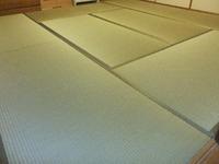 1458特別栽培畳表で表替え「神戸市中央区)