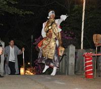 1109篠原厳島神社春季大祭・猿田彦足固め
