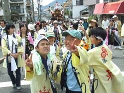 667神戸市灘区篠原厳島神社春祭り、地車巡航