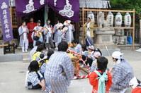 1112篠原厳島神社春季大祭、御神輿・猿田彦お渡り