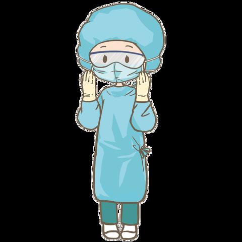 防護服看護士