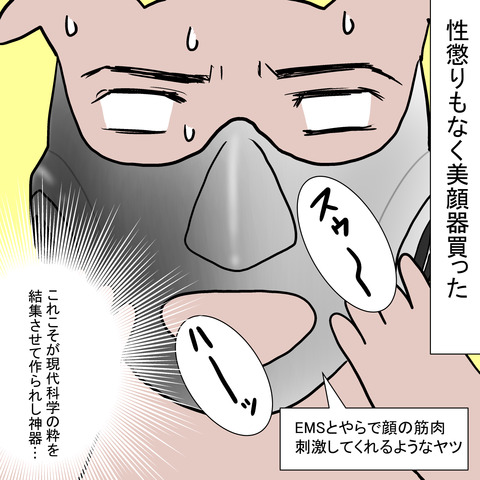ヤーマンのデスマスクみたいな美顔器メディリフト買った