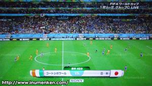 tv_11(サッカーW杯「日本VSコートジボワール」試合開始