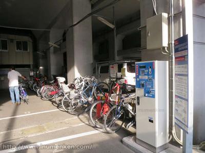 n_st_91(秋葉原の自転車置き場