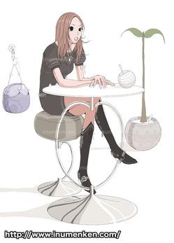mcg_23(カフェにいる女子
