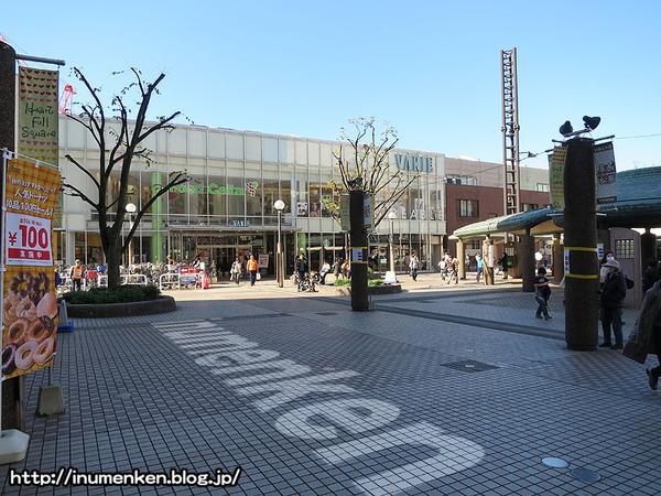 n_s_701(草加駅_プロジェクション・マッピング(埼玉)