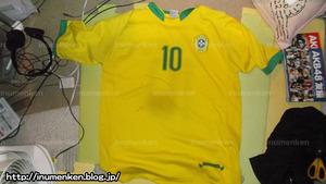 sp_19サッカーブラジル代表ユニフォーム10番