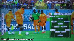 tv_05(サッカーW杯「日本VSコートジボワール」スタメン発表
