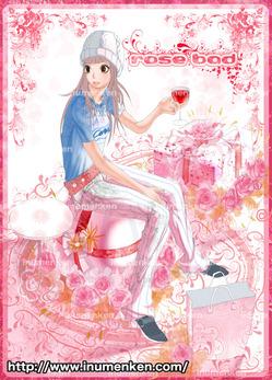 mcg_22(薔薇に囲まれた女子