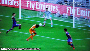 tv_24(サッカーW杯「日本VSコートジボワール」再びヘディング