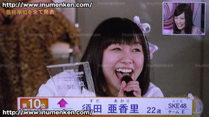 i_b_86((AKB「第6回・選抜総選挙」(2014)須田あかり_順位