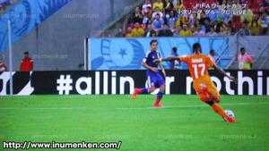 tv_20(サッカーW杯「日本VSコートジボワール」クロスボール