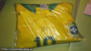 sp_18サッカーブラジル代表ユニフォーム「10番」