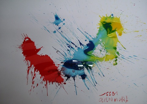 「ワタシハシモベ」(№1)77.2×108.9㎝20210712