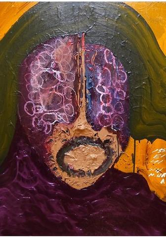 収蔵(京都市立美術館)「死の芸術」カンバス P3020150212