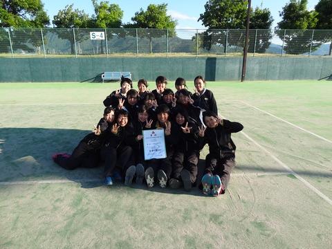県大会(女子テニス)