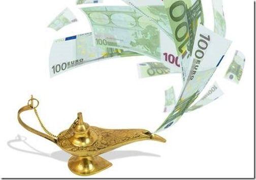 27013401-el-dinero-vuela-fuera-de-la-lámpara-mágica-concepto-de-negocio-aladdin-s