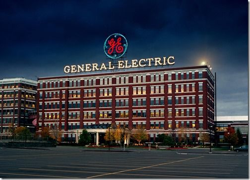 PSP30270|Bldg 37 Building 37|Main Plant - Red White and Blue GE Sign|Schenectady ||