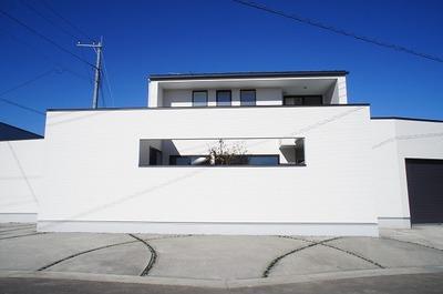 那須野が原のコートハウス (1)